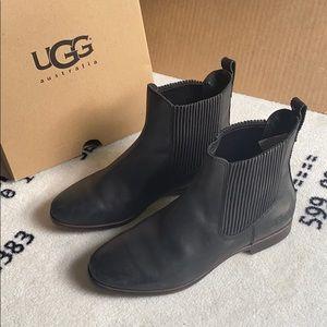UGG Leather Booties